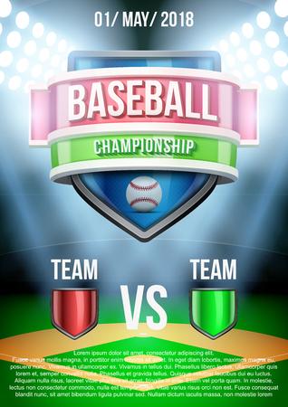 baseball stadium: Background for posters baseball stadium game announcement