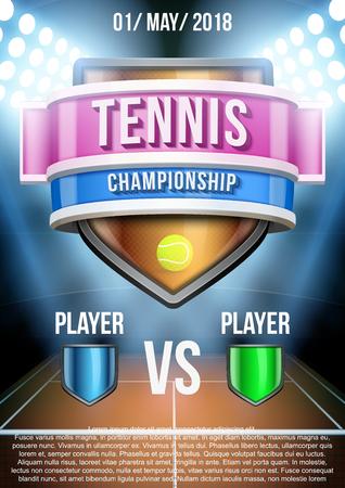 tennis stadium: Antecedentes para el anuncio posters juego de tenis estadio