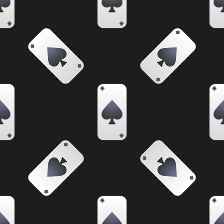universal: Universal casino cards seamless patterns tiling. Illustration