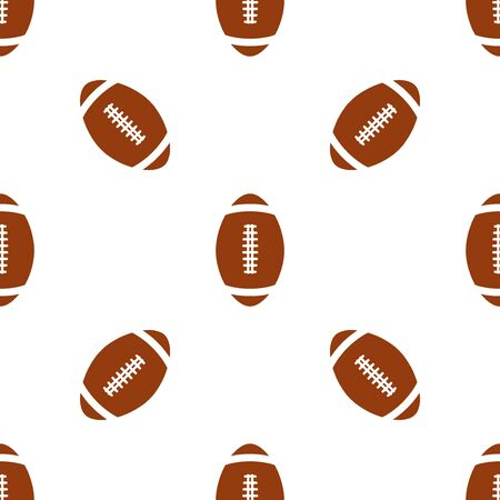 fills: Universal vector american football seamless patterns tiling. Sport theme with balls. Endless texture can be used for wrapper, cover, package, pattern fills, surface textures.