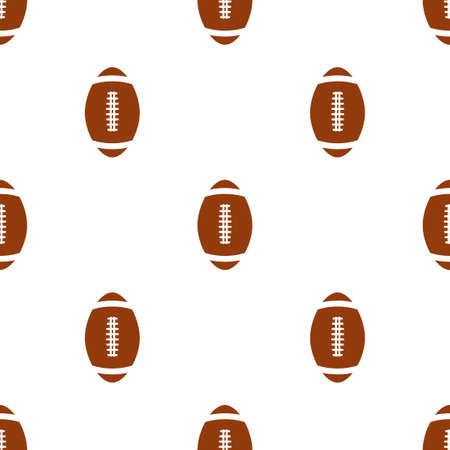 wrapper: Universal vector american football seamless patterns tiling. Sport theme with balls. Endless texture can be used for wrapper, cover, package, pattern fills, surface textures.