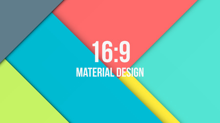 design layout: Background Unusual modern material design. Abstract Vector Illustration. Illustration