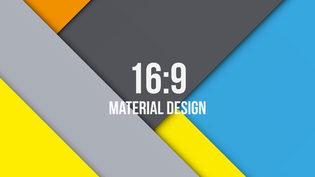 Background Unusual modern material design. Vector Illustration.