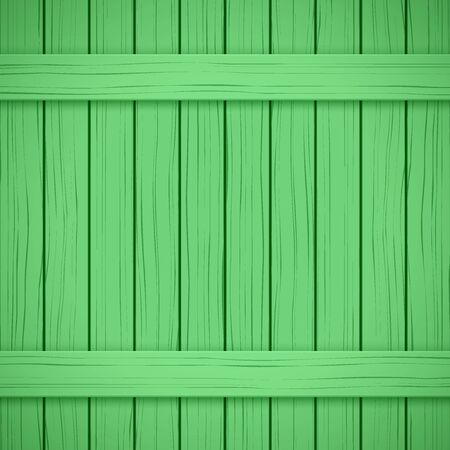 painted wood: Vector Painted Wood Backdrop. Green color. Vertical and horizontal. Illustration