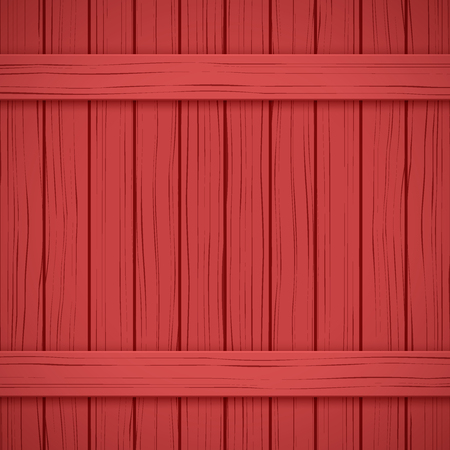 painted wood: Vector Painted Wood Backdrop. Red color. Vertical and horizontal. Illustration