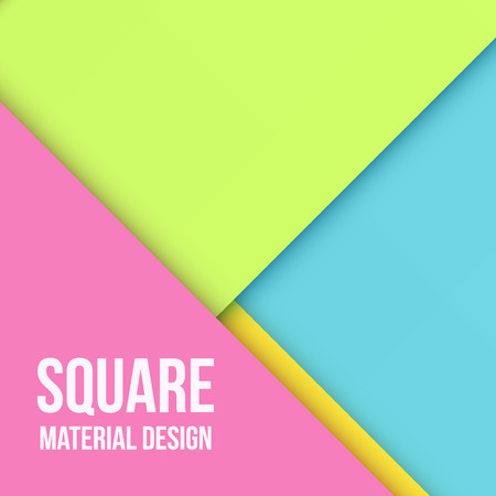Color Background Unusual modern material design.