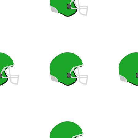 wrapper: Universal vector american football seamless patterns tiling. Sport theme with helmets. Endless texture can be used for wrapper, cover, package, pattern fills, surface textures. Illustration