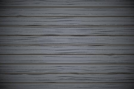 panelling: Vector Dark Wood plank texture background. Horizontal backdrop. Illustration