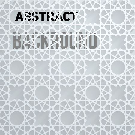 backdrop: Light Tech Abstract Background. Vector Backdrop Illustration Illustration