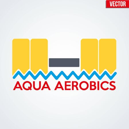 therapy group: Symbol of Aqua Aerobics and Aqua Fitness.