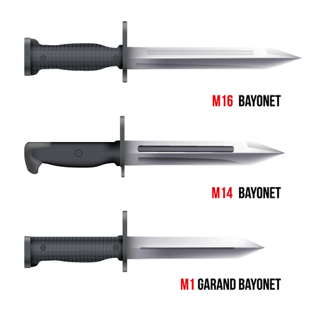 bayonet: Bayonet Knives for different american rifles.