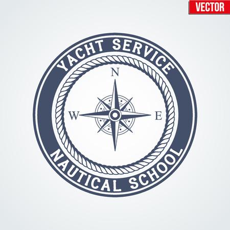 yacht isolated: Premium Nautical Yacht . Illustration isolated on white background. Illustration