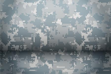 camoflage: Digital Camouflage background. Mockup for presentation items. Vector Illustration.