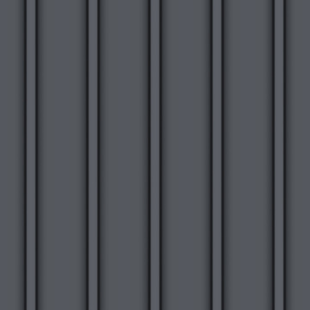 Metallic Dach nahtlose Muster. Schwarze Farbe. Klassischer Stil. Illustration Vektorgrafik