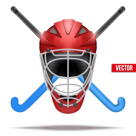 Outdoor hockey veldsymbool.