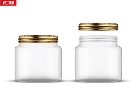 food preservation: Set of Glass Jars for canning