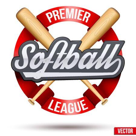 Softball circle symbol