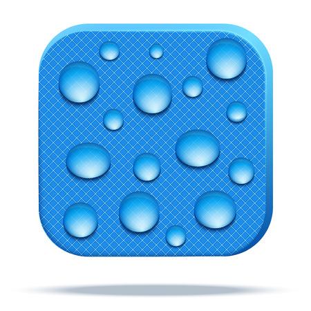Icon of waterproof fabric.