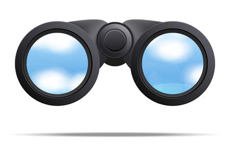 光学双眼鏡 写真素材