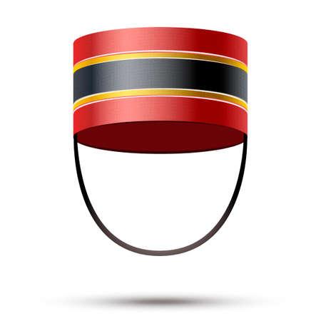 Bellboy Hat  Illustration