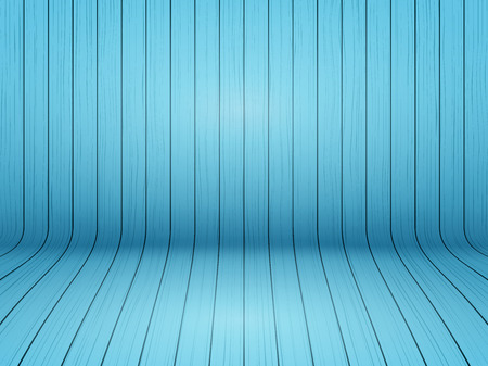 Curved wooden background interior.