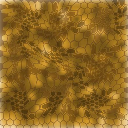 Modern Creative Kryptek Banshee Camouflage patterns. Vector Illustration. Иллюстрация