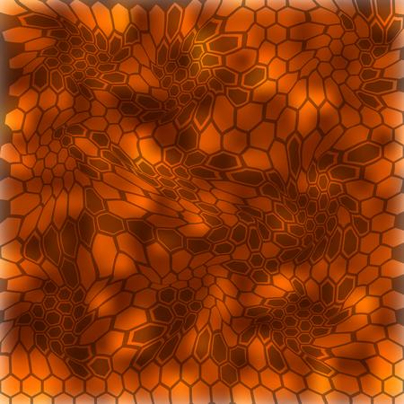 Modern Creative Kryptek inferno Camouflage patterns. Vector Illustration.