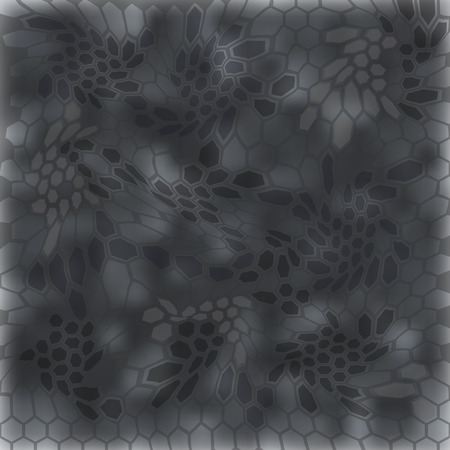 Modern Creative Kryptek typhoon Camouflage patterns. Vector Illustration.