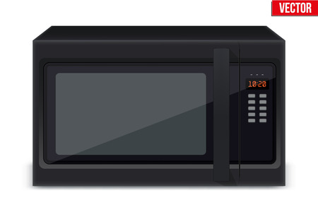 Original Classic Microwave Oven sample model design Illustration.