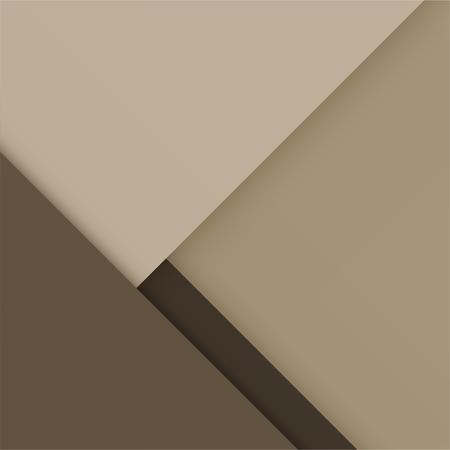 Background Unusual modern material design. Vintage sepia style. Abstract Vector Illustration. Standard-Bild - 126023753