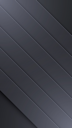 Background Unusual modern material design. Dark style. Abstract Vector Illustration. Standard-Bild - 126023755