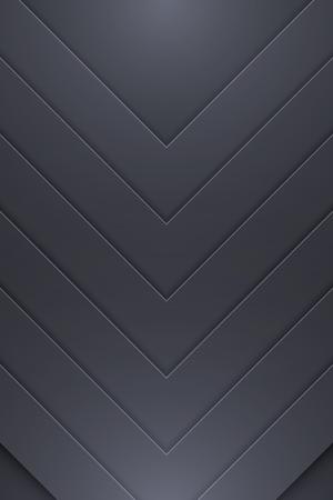 Background Unusual modern material design. Dark style. Abstract Vector Illustration. Standard-Bild - 126023759