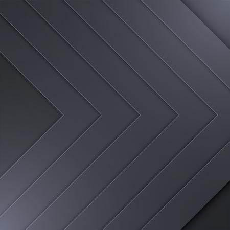 Background Unusual modern material design. Dark style. Abstract Vector Illustration. Standard-Bild - 126023760