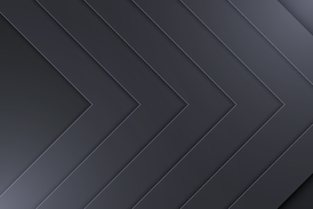 Background Unusual modern material design. Dark style. Abstract Vector Illustration. Standard-Bild - 125931436