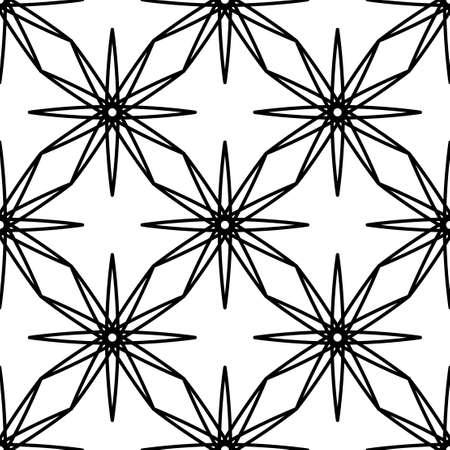 Ethnic ornament pattern for laser cut and cnc. Vector illustration isolated on white background.