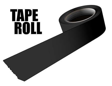 Tape roll Stock Vector - 11349816