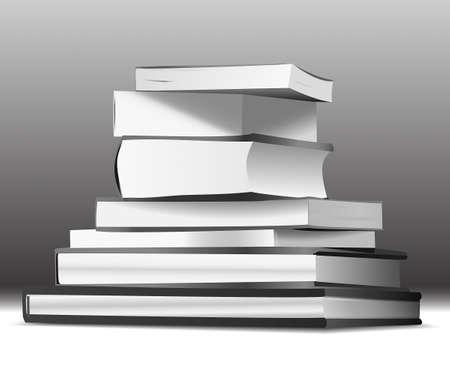 magazine stack: Stack of books
