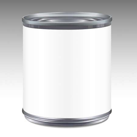 latas: El esta�o puede plantilla