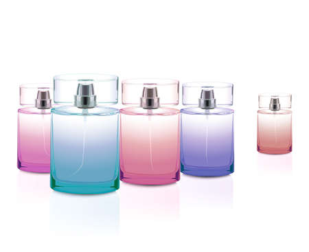 Perfume bottles set