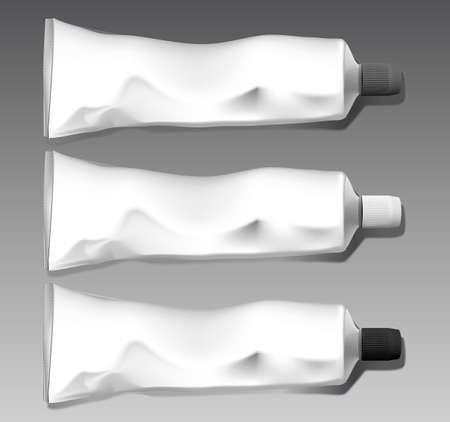Tube template set