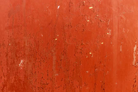 grunge retro texture orange cracked paint