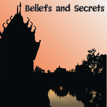 Man's beliefs are related to religion, respect and secrecy.