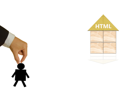 markup: Hyper Text Markup Language