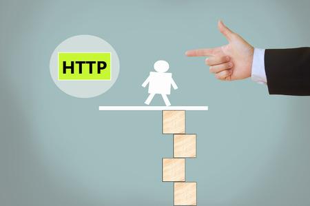 protocol: Hyper Text Transfer Protocol