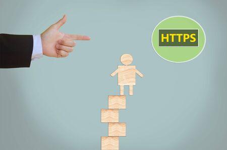 protocol: Hyper Text Transfer Protocol Secure