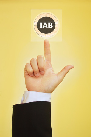 bureau: Interactive Advertising Bureau Stock Photo
