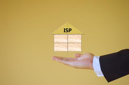 internet service provider: Internet Service Provider Stock Photo