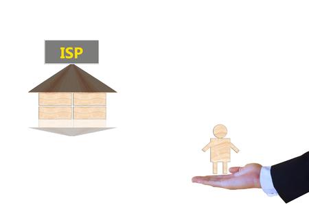 service provider: Internet Service Provider Stock Photo