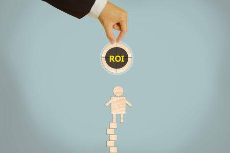 rendement: Return on Investment Stockfoto