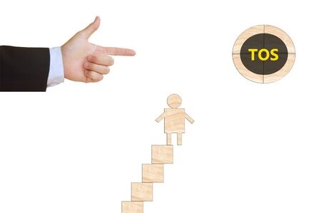 term: Term of Service Stock Photo